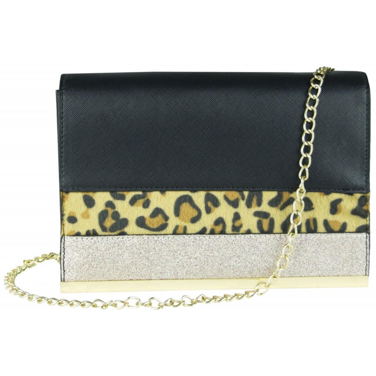 Handtasche schwarz / silber Original Dorothy Perkins