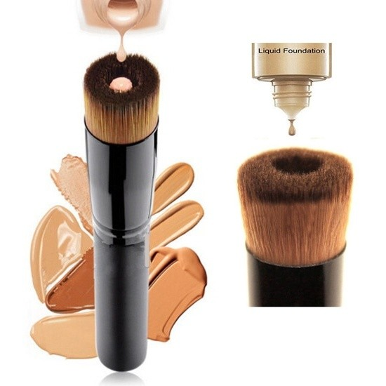 FLACHER MAKE UP PINSEL - Flat Top Foundation Brush