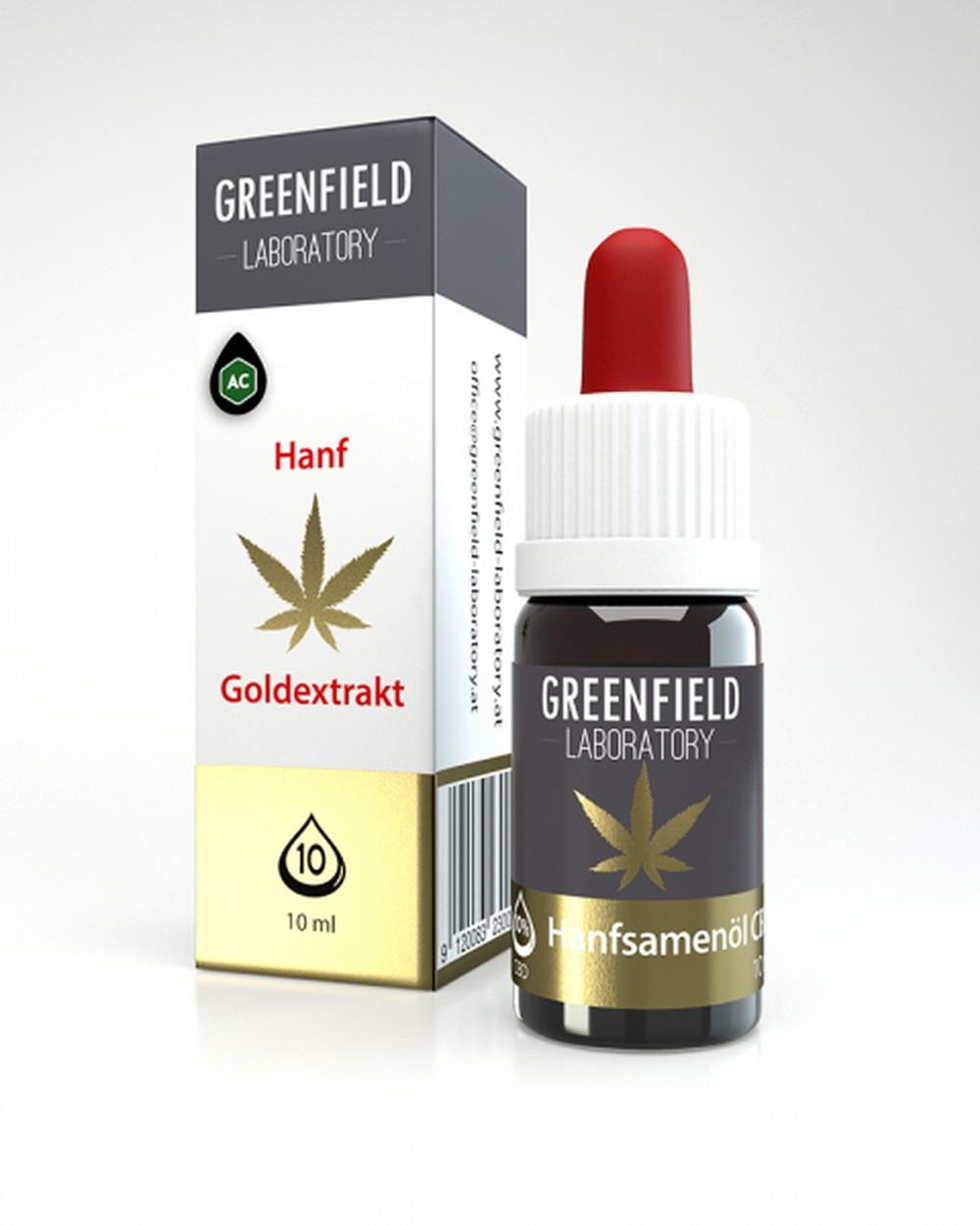 CBD Öl 10%, von Greenfield Laboratory Leoben,10 ml