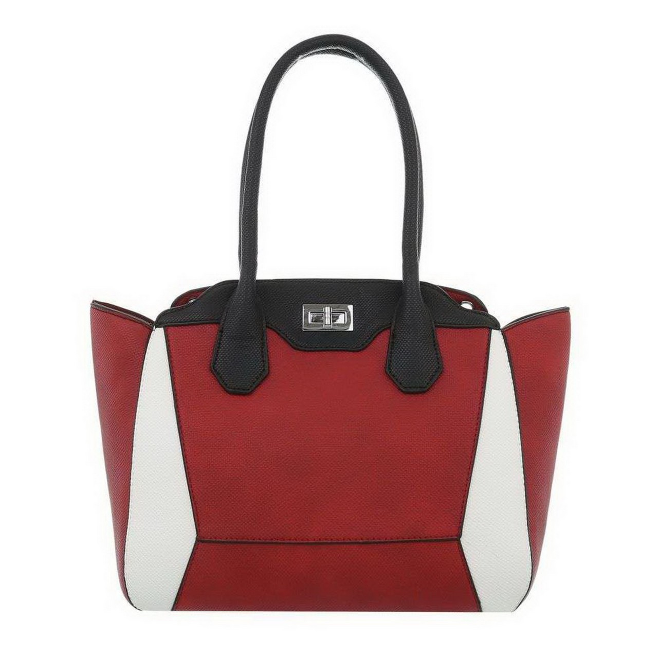 Damen Handtasche-red