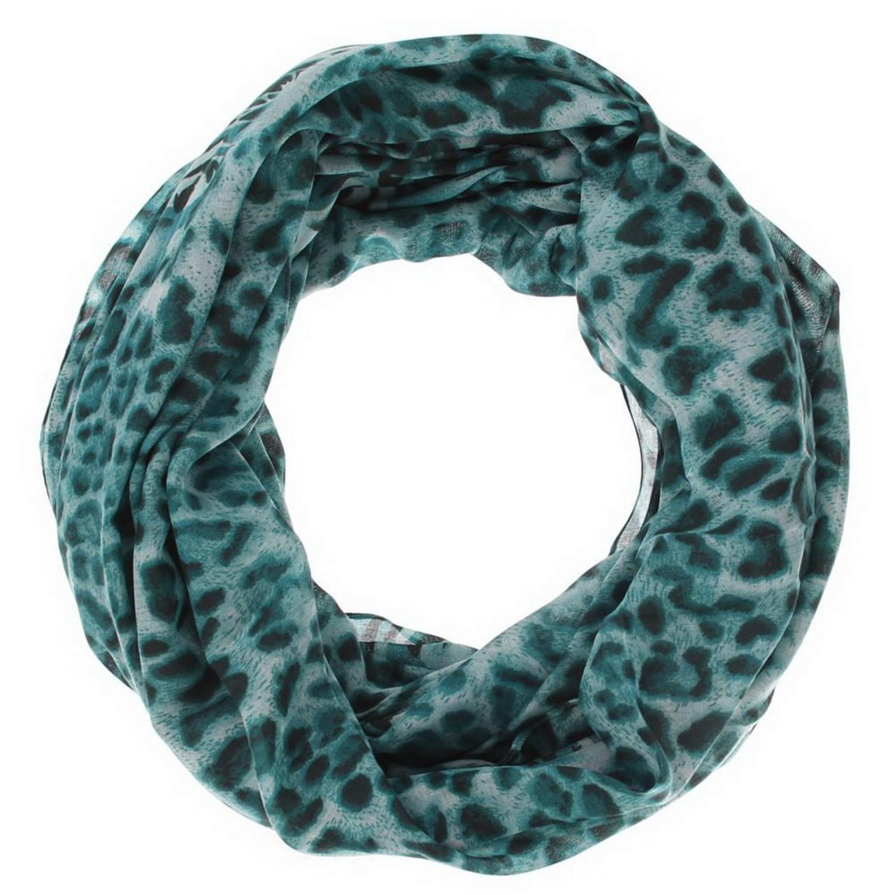 Damen Schal - türkis, Loop