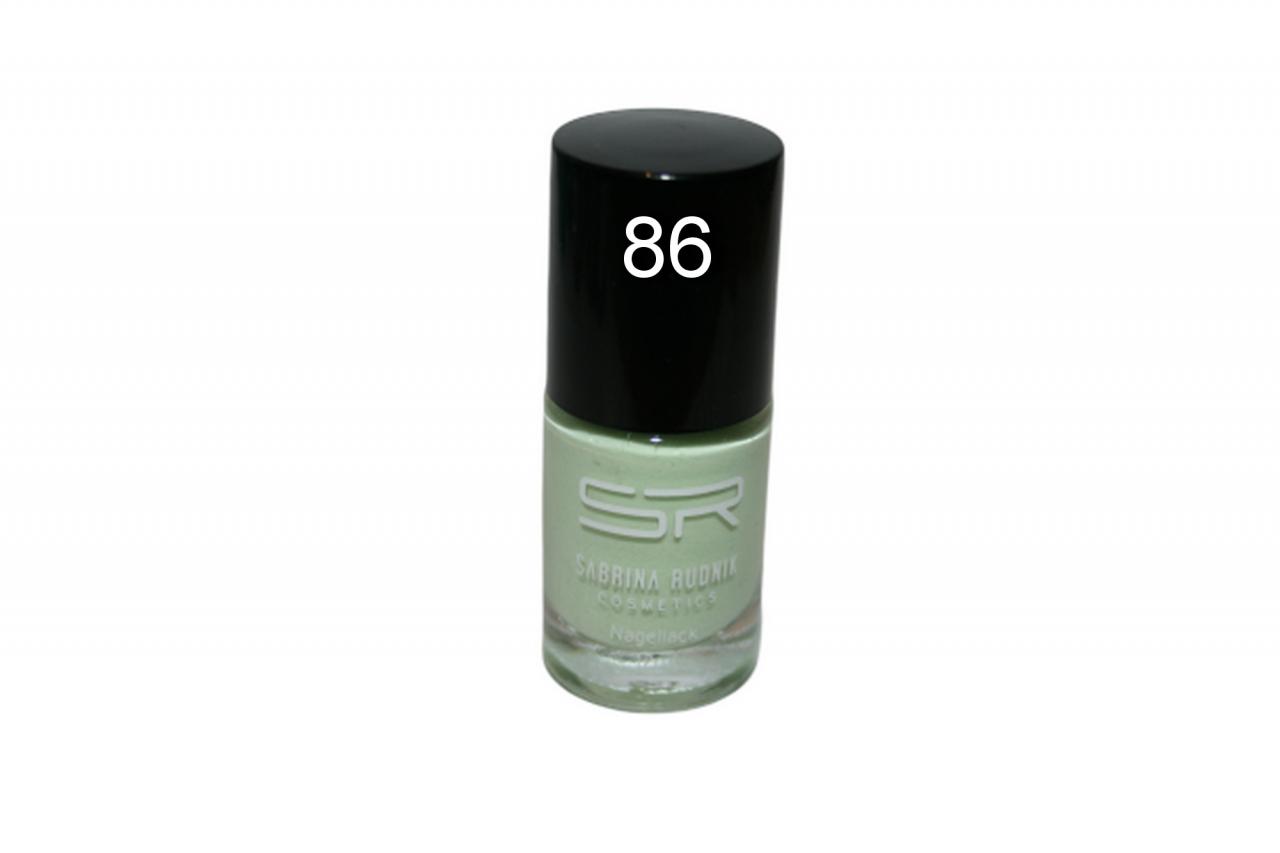 Sabrina Rudnik Cosmetics Nagellack Trendy - hellgrün 86