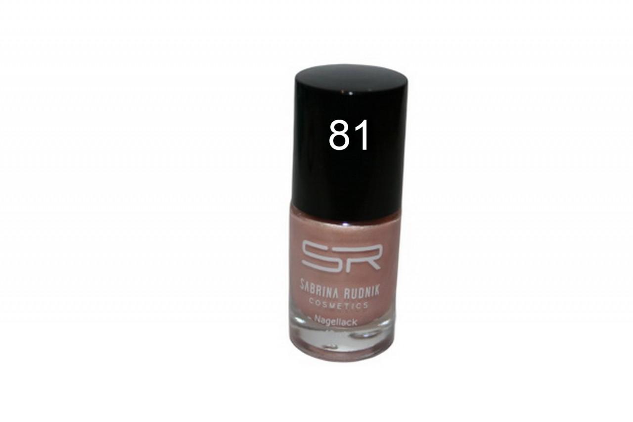 Sabrina Rudnik Cosmetics Nagellack Trendy - nude beige 81