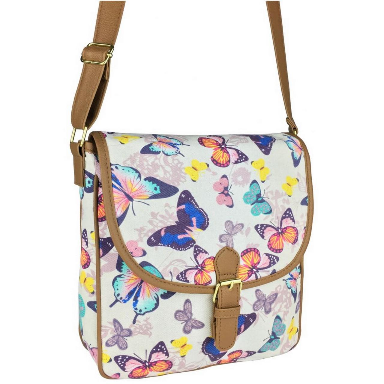 Damen Handtasche Butterfly