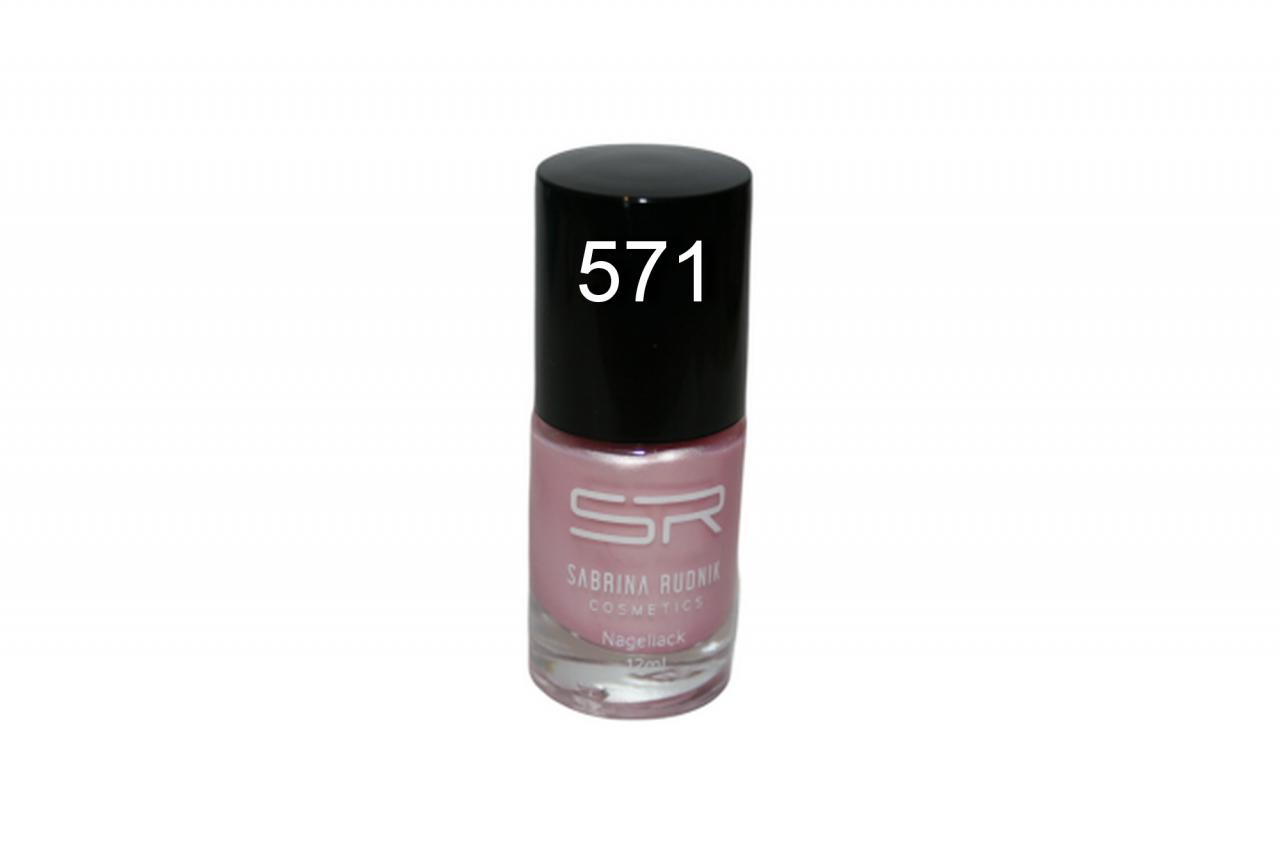 Sabrina Rudnik Cosmetics Nagellack Trendy - nude rose 571