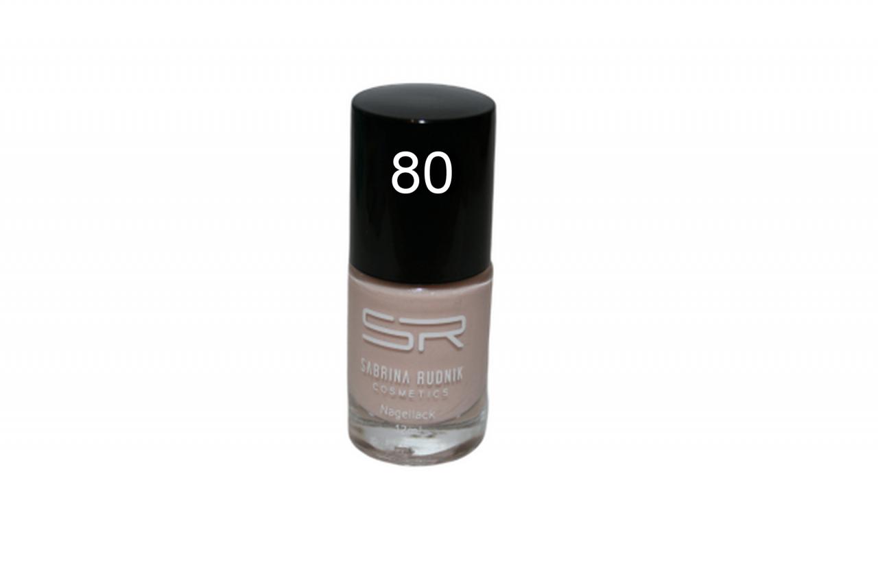 Sabrina Rudnik Cosmetics Nagellack Trendy - nude creme 80